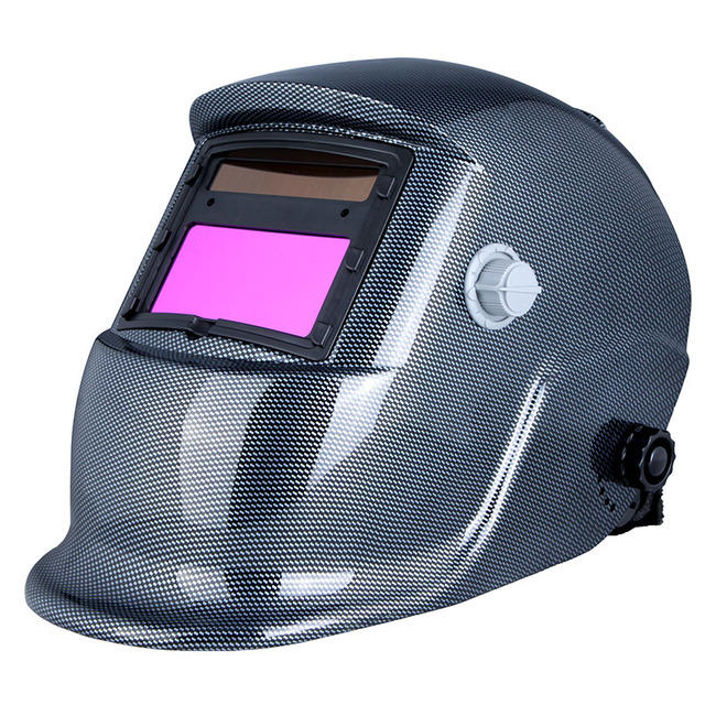 Welding Helmet Arc Tig Mig Grinding Solar Powered Welding &amp Soldering Supplies Good Quality Welding Mask cap Auto Darkening