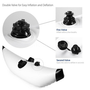 Image 2 - Inflatable Kayak Outriggers Stabilizers Canoe Buoy Float Standing Water Float Buoy