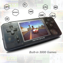 New 3.0 inch Handheld Player Built-in 3000 Classic Games Retro video Game Console  Support For CP1/CP2/NEOGEO/GBA/GB/MD/FC