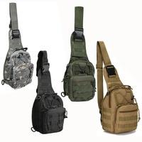 Outdoor Crossbody Shoulder Bag Oxford Cloth Military Haversack Tactical Casual Popular