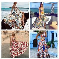 Z-ZOUX, Женский комплект, укороченный топ, юбка, набор для женщин, высокая талия, длинная юбка с принтом, Сексапильный комплект из двух предмето...