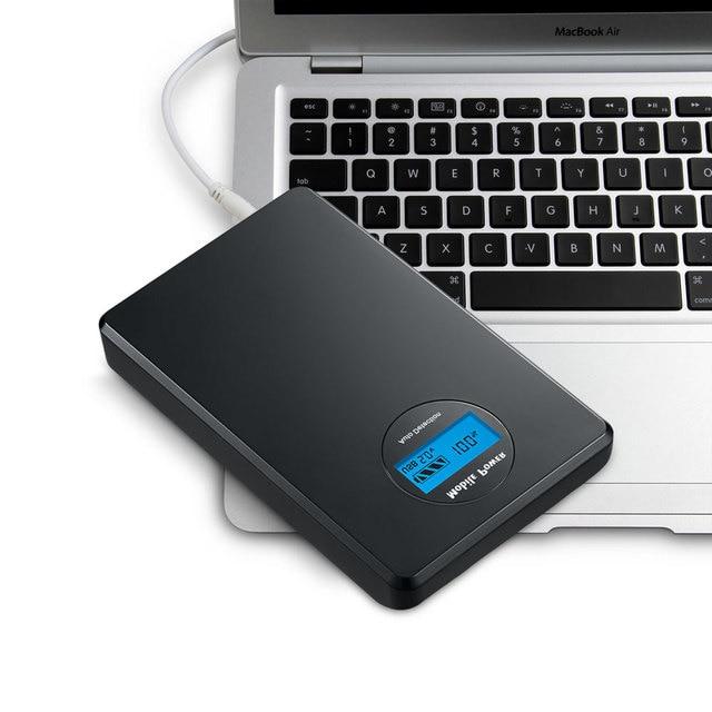 Udoli 20000mah 5V 9V 12V 19V Mobile Powerful Portable Laptop Power Bank External Battery for APPLE ASUS ACER HP LENOVO Notebook-in Tablet ...