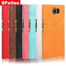 UPaitou for BlackBerry Priv Case Luxury Crocodile Snake Print Leather Cases Back Cover for BlackBerry Priv /Venice Phone Coque
