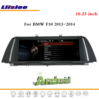Liislee 10,25 дюймов Android мультимедиа для BMW F10 2013 ~ 2014 стерео радио dvd плеер Wi Fi gps Navi карта Nav навигации Системы