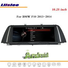 Liislee 10.25 Inch Android Multimedia For BMW F10 2013~2014 Car Stereo Radio DVD Player Wifi GPS Navi Map Nav Navigation System