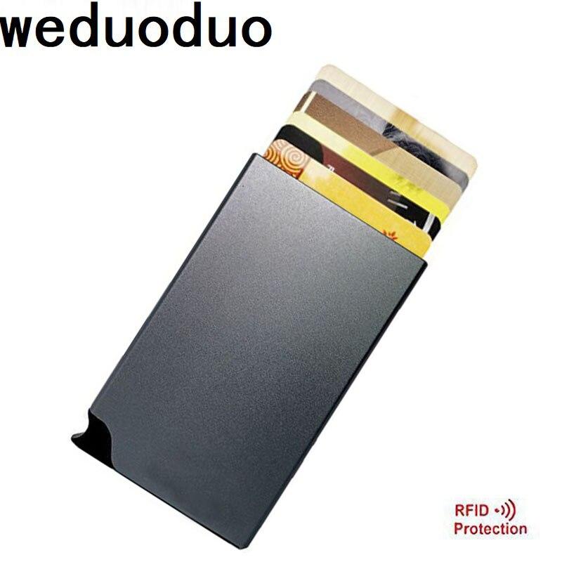 various colours Aluminium Credit Card Case