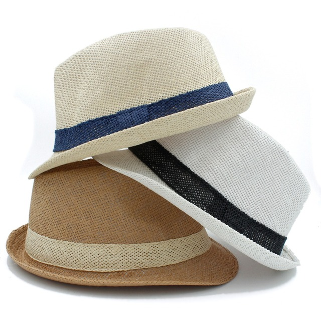 New panama straw hat for women men Western Cowboy Hats Best Mens Summer  beach Sun Fedora ccd1b7083fe