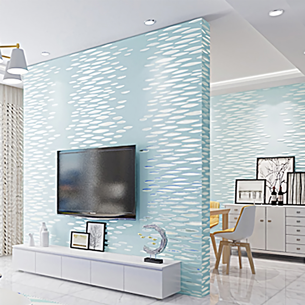 Non woven modern luxury pattern creation 3d effect for 3d effect wallpaper for home