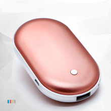 New Pebbles Electric Hand Warmer 4000MAh Rechargeable Heater Small Portable Marca dragon Colors Warm Hands Treasure