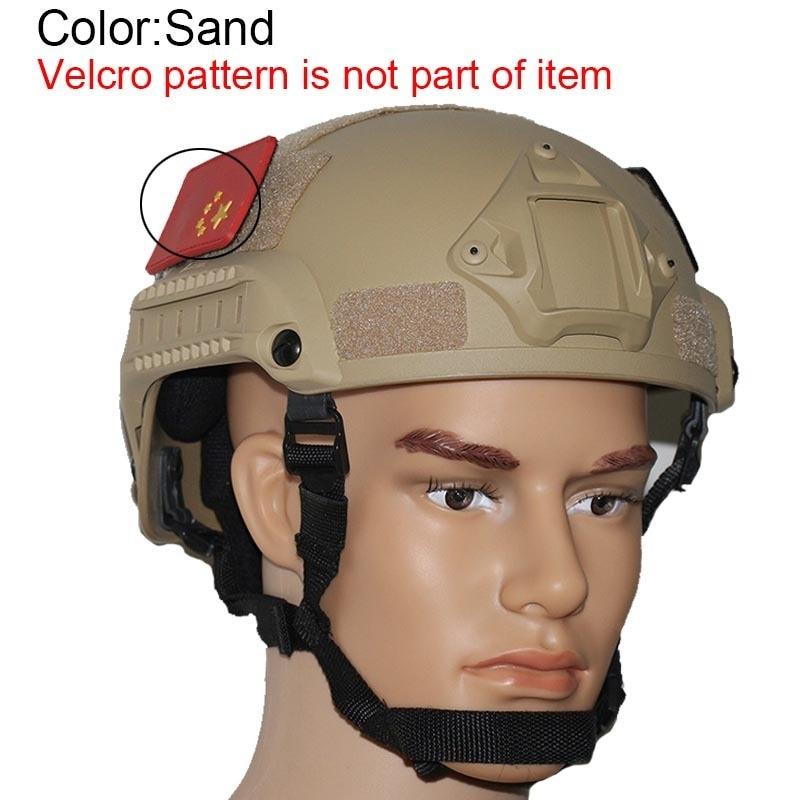 Military Mich 2001 Airsoft Helmet тактикалық - Спорттық киім мен керек-жарақтар - фото 4