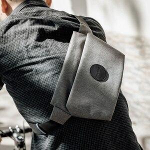 Image 4 - NewBring Summer Small Sling Bag Hip Waist Packs Shoulder Bum Belt Bags For Men Fanny Bag Waterproof Phone Money New Male Female