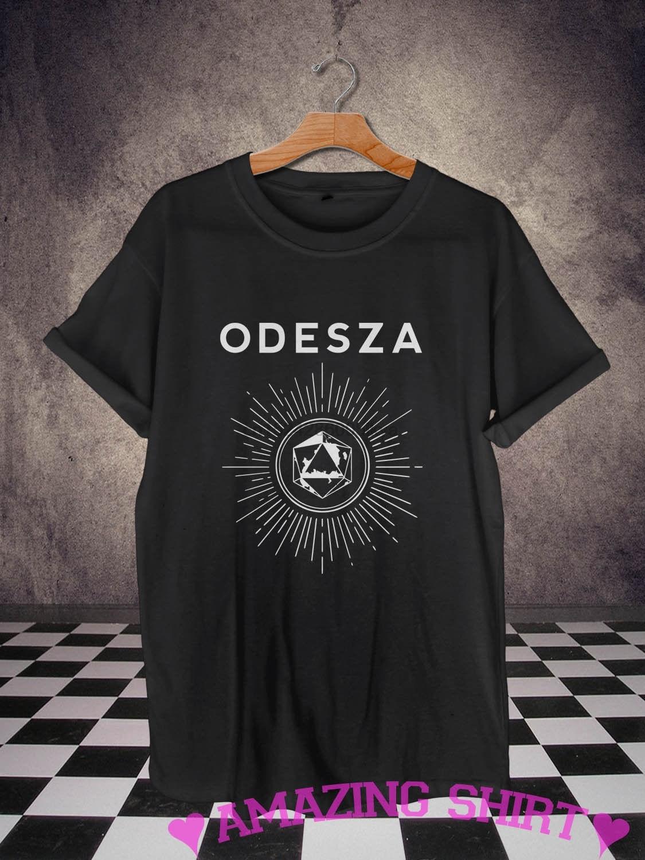 Odesza Shirt T Black Logo Bastille
