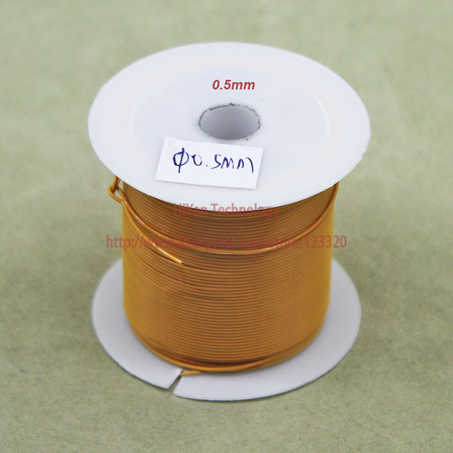 20meters/lot) Triple Insulated Copper Wire Bare Copper Diameter 0.5 ...