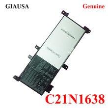 NOVA Bateria do portátil para Asus F442U C21N1638 A480U C21N1638 7.7 V 38WH