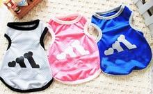 Pet clothes dog spring/summer pet mesh vest