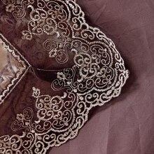 Svetanya Jacquard Bedding Sets 6pc/4pc Queen King size Duvet Cover Set Silk Cotton blend Fabric luxury Bedlinen