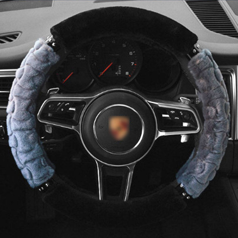 TENGRUI Car Steering Wheel Cover for volkswagen vw passat b7/vw passat b8/vw gol/golf 7/polo/golf 4 direksiyon seti direksiyon
