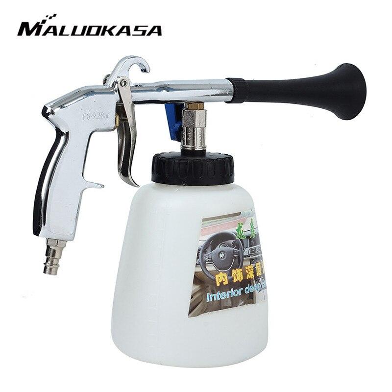 MALUOKASA Tornado Wasser Pistole Schaum Lance für Auto Waschen Reinigung Druck Generator Oberfläche Innen & Außen Auto Staubsauger