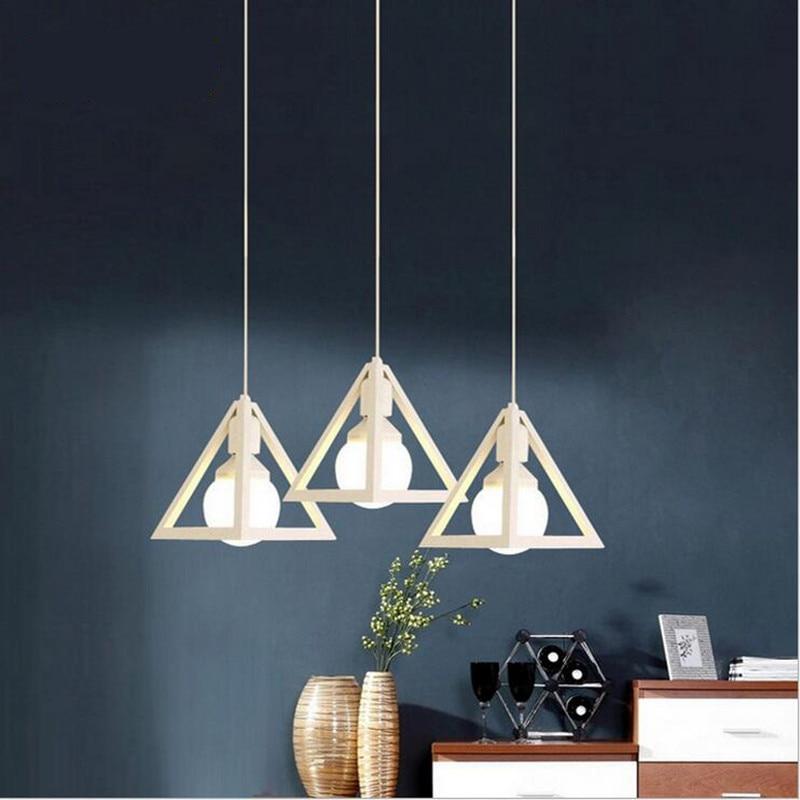 ФОТО Modern Brief Fashion Iron Black/white Led E27 Pendant Light For dining Room Restaurant AV 80-265V 2150
