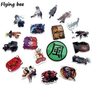Image 3 - Flyingbee 70 Pcs Anime boy Japanese Graffiti Stickers for Kids DIY Luggage Laptop Skateboard Car Waterproof Sticker X0214