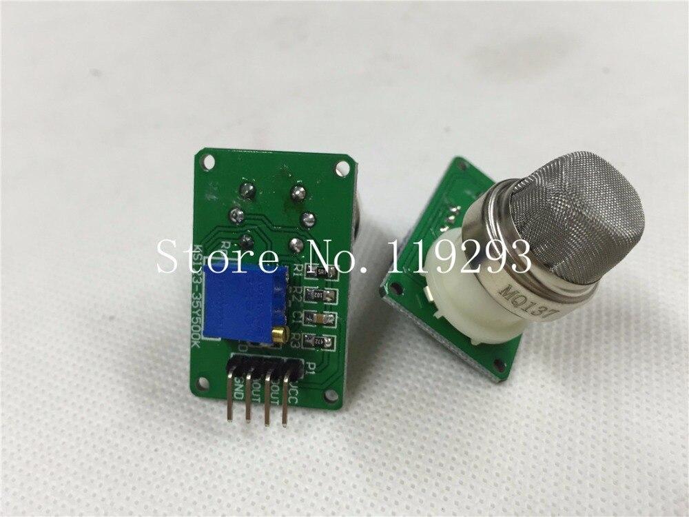 [BELLA] nouveau capteur d'ammoniac d'origine MQ-137 MQ137 NH3 module de capteur de gaz-2 pcs/lot