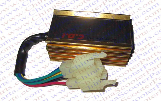 Racing 6 Pin two Squre Plug AC CDI Ignition Box 125CC 150CC 200CC 250CC Pit Dirt Bike ATV Quad Parts