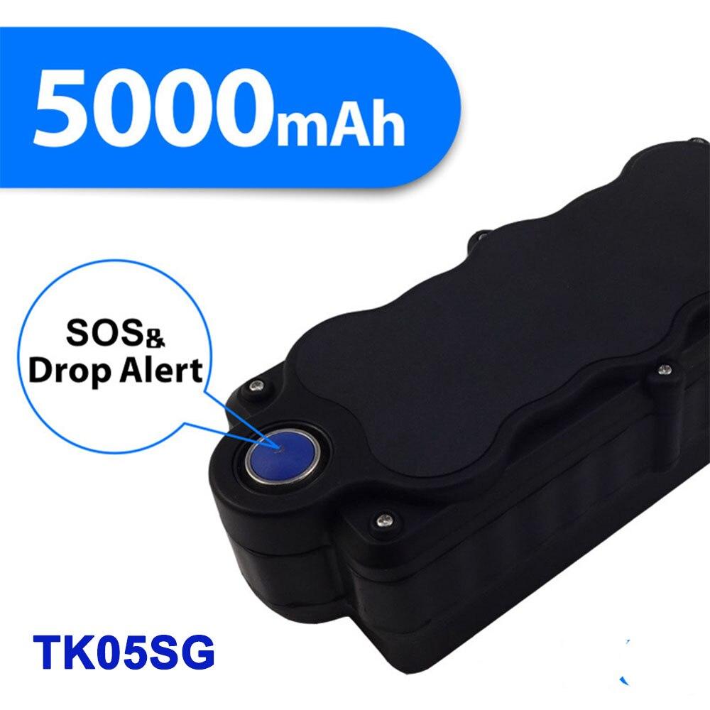 TK05SG véhicule solaire Wifi 3G GPS Tracker fort aimant Anti-vol goutte alarme traqueur avec fonction d'écoute voiture gps Tracker 3g