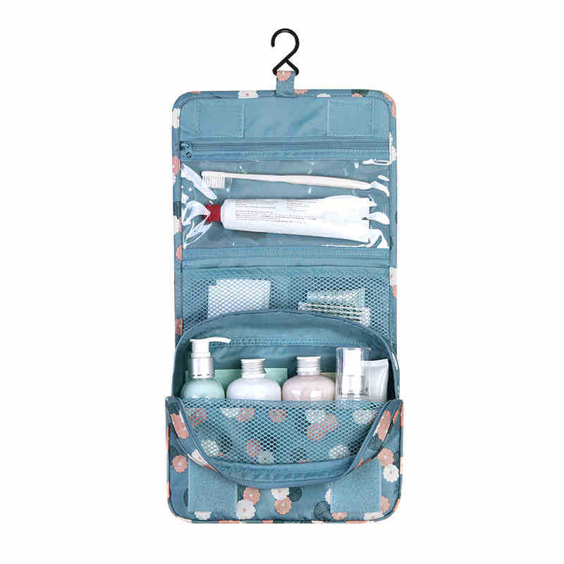 Exellent Travel Shower Bag Unisex Fold Admission Cosmetic Wash High Capacity Hanging Package Sieve For Design