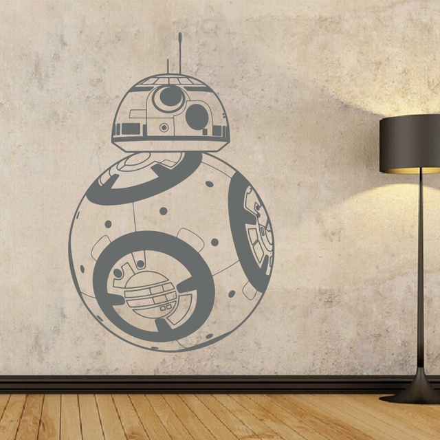 Star Wars BB-8 Wall Stickers For Home Decoration