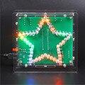 Elecrow Colorido Brilho LEVOU Kit DIY Eletrônico Lâmpada 51 Microcontrolador Criativa Única Estrela de Cinco Pontas Frete Grátis