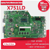 X751LD FOR ASUS X751LD X751L K751L K751LN X751LN Laptop Motherboard W I5 4200U CPU 4GB And