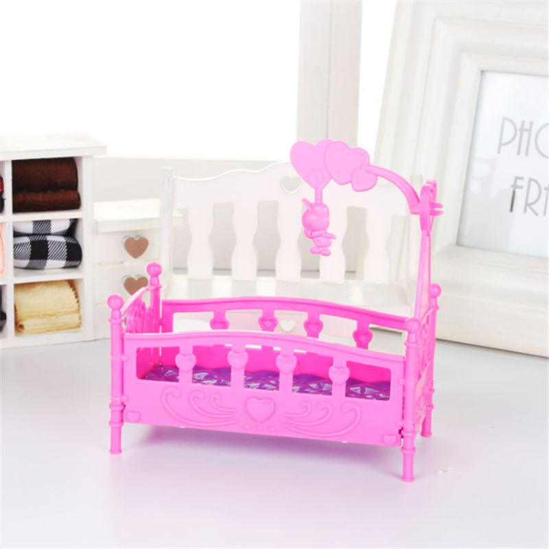 AOSST Original luxury Baby Doll The cradle for lols Big Sister Dolls DIY Kid Birthday Christmas Gift toy in Dolls from Toys Hobbies