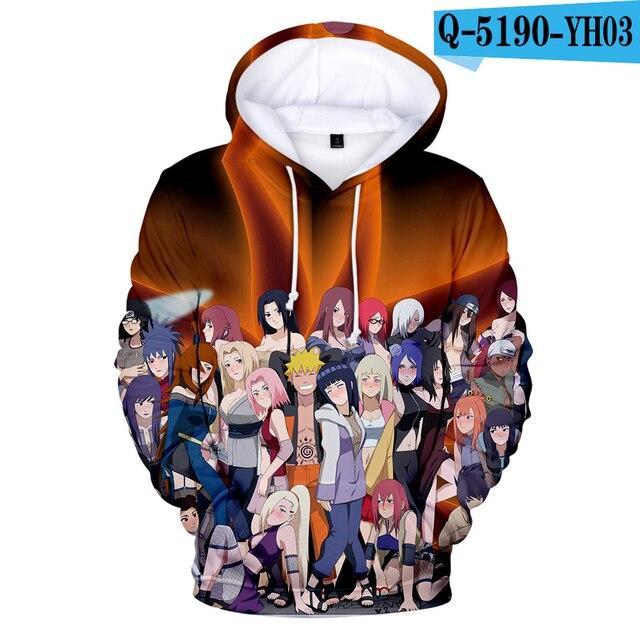 Niñoniña Naruto 3d Comprar Casual Hombres Sudaderas Con Capucha vN80wnOm