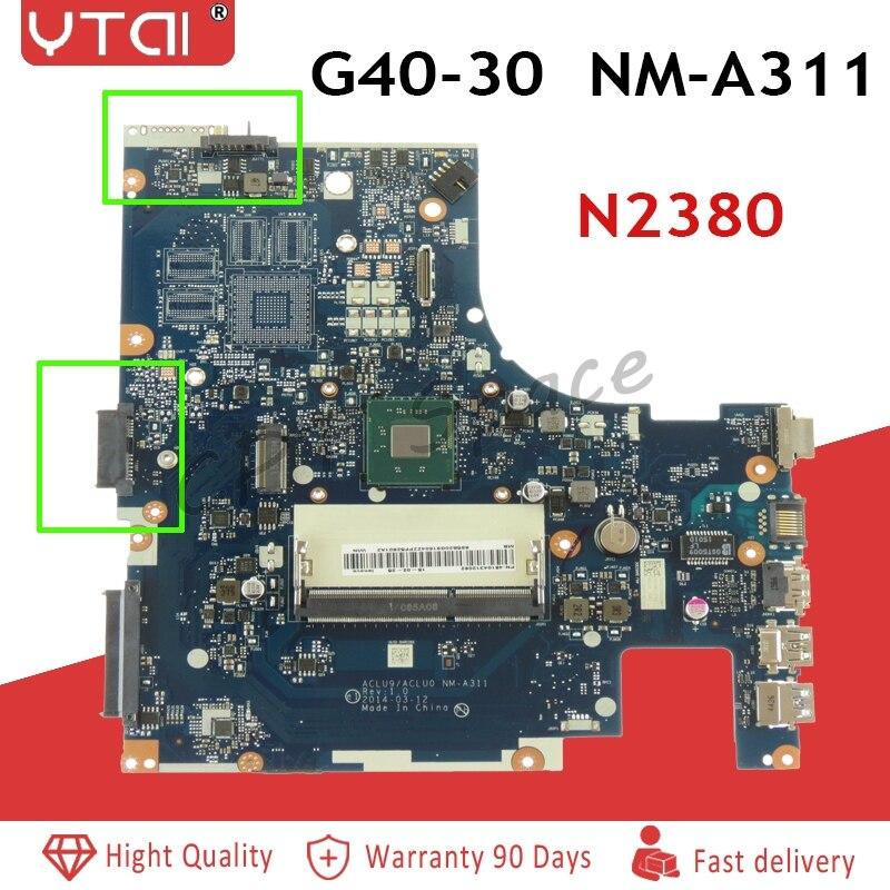 N2830U  for Lenovo G40-30 laptop Motherboard DDR3 USB3.0 ACLU9/ACLU0 NM-A311 SR1W4 N2830 cpu mainboard fully testedN2830U  for Lenovo G40-30 laptop Motherboard DDR3 USB3.0 ACLU9/ACLU0 NM-A311 SR1W4 N2830 cpu mainboard fully tested