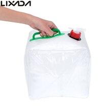 Водовоз питьевой контейнер пвх прозрачный складной воды автомобиль мешок открытый