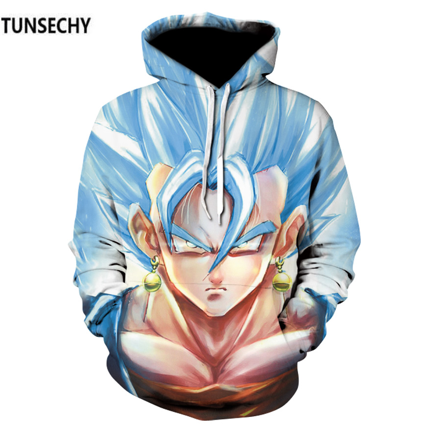 TUNSECHY dragon ball wukong hooded men loose hoodies and sweatshirts students hoodie long-sleeved clothes Free transportation