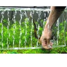 Горячая пузырьковая трубка воздушный камень кислородный аэрационный насос занавес аквариумный аквариум S инструменты