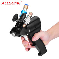 ALLSOME Polyurethane PU Foam High Pressure Spray Gun P2 Air Purge Spraying Gun Spray Casting Gun Tool HT1762