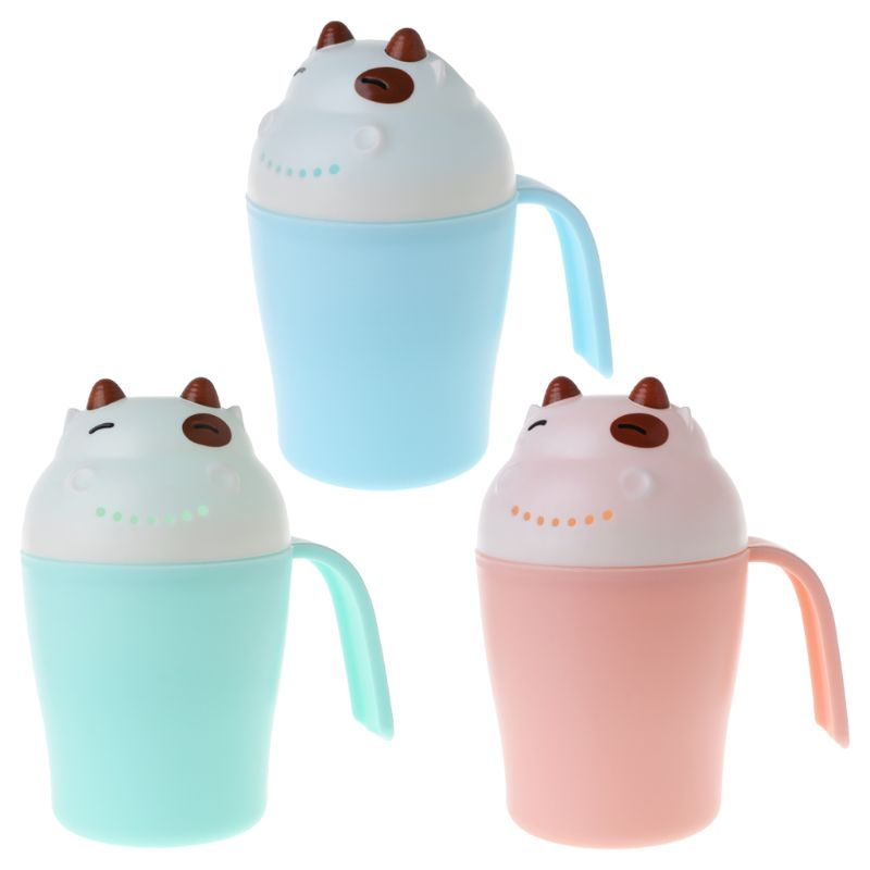 Baby Shower Cup Hair Head Washing Cups Bath Water Kids Children Newborn Bathtub Cartoon Toys Scoop Infant Shampoo Spoon
