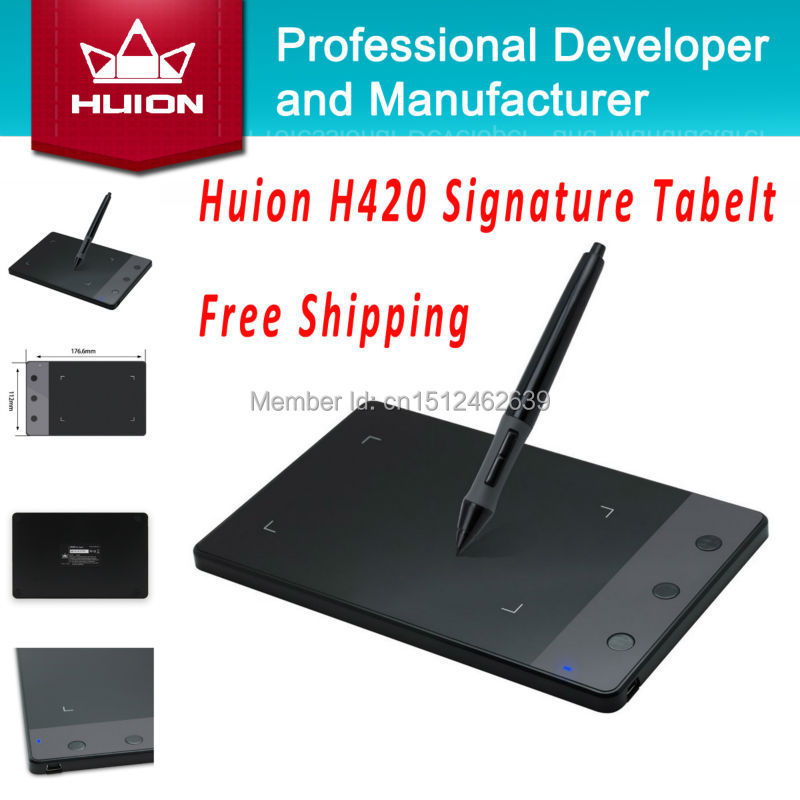 Huion H420 Usb Drawing Writing Art Graphics