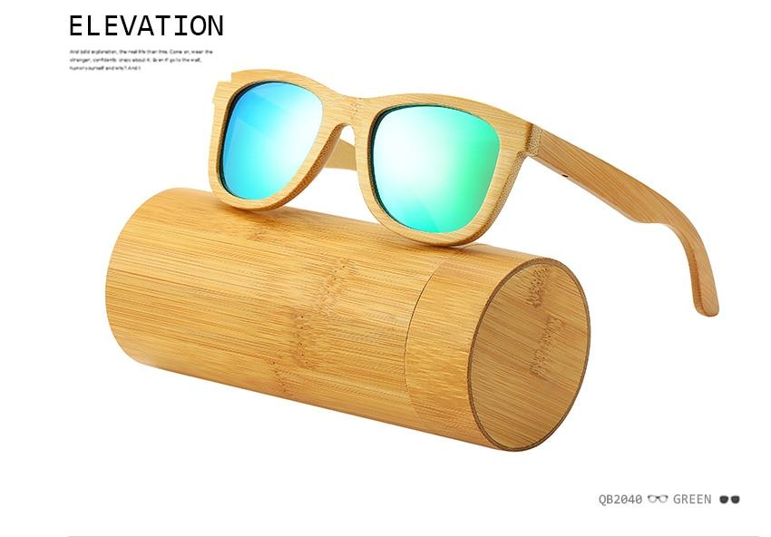 113c5968d0 ... gafas de sol. Espejo retrovisor Revo/lentes polarizados, marco de bambú  de madera, para hombres y mujeres. No te preocupes que el tamaño no encaja  en tu ...