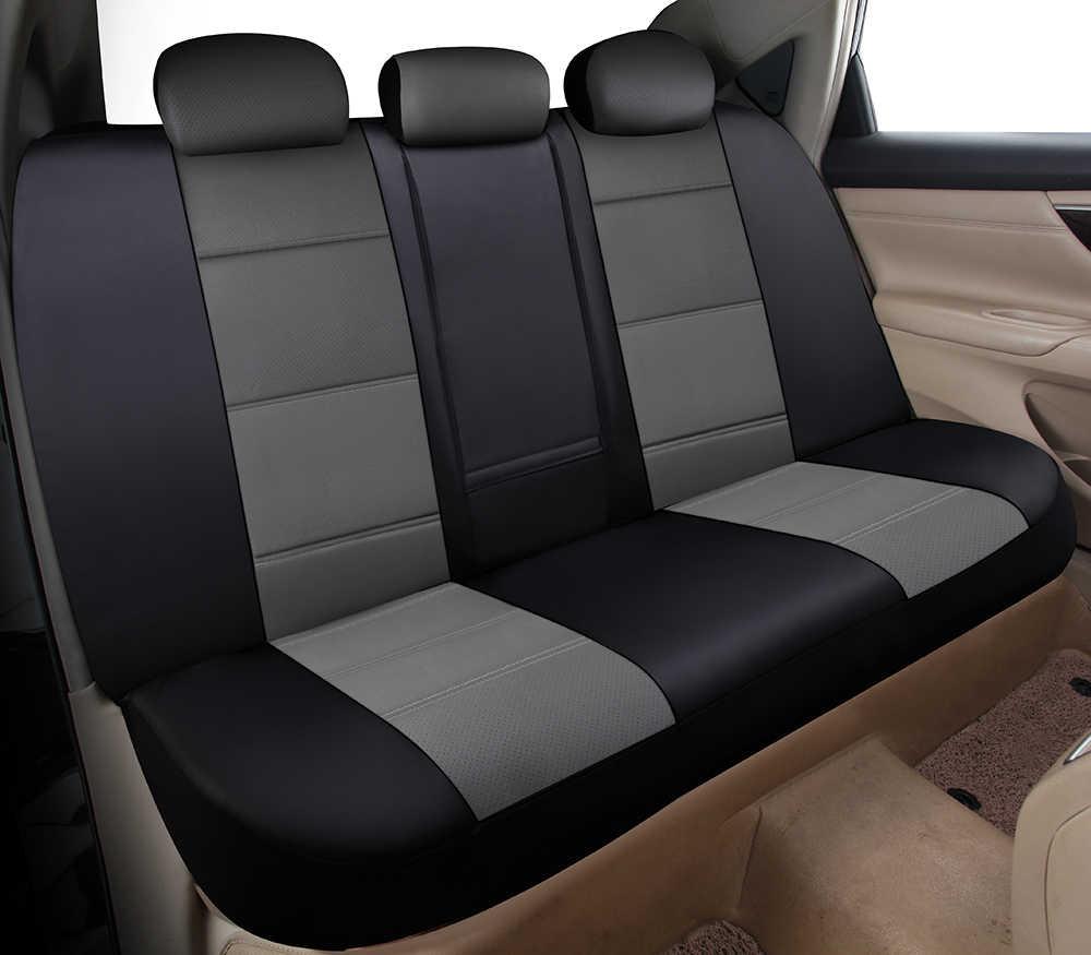 Yuzhe العالمي السيارات الجلود غطاء مقعد السيارة ل Volkswagen vw باسات بولو جولف تيجوان جيتا اكسسوارات السيارات غطاء مقعد
