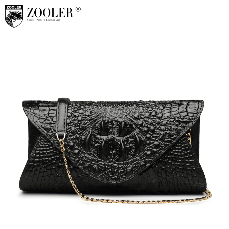Hot ZOOLER genuine leather Bags cross body women famous brand shoulder messenger bag chains designed woman bag high quality#x103 2018 new hot item high quality women handbag genuine leather bags women messenger bag vintage women bag shoulder cross body bags