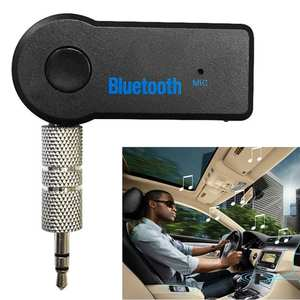 jun22 Wireless Bluetooth 3.5mm Audio Details about Stereo Music Home Car Receiver