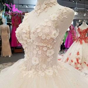 Image 1 - AIJINGYU Simple Dresses Wedding Gowns Cheap Design Light Ball Russian Queen Sexy White Queen Websites Bridal Dress Design