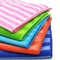 5PCS Colorful Thick Plush Microfiber Car Cleaning Cloths Car Care Wash Microfibre Wax Polishing Detailing Towels
