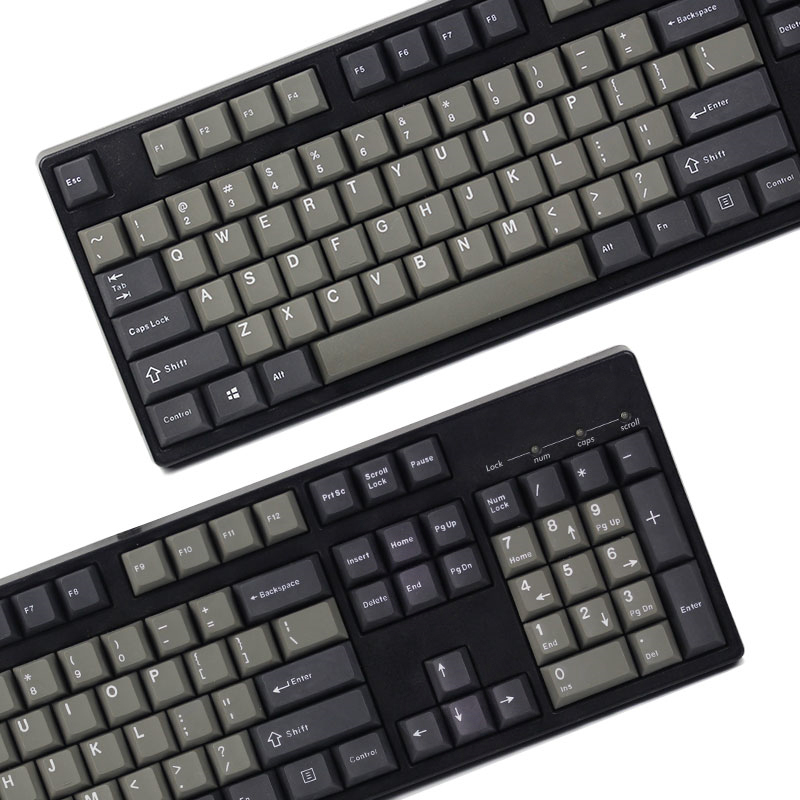 Dolch Thick PBT double shot 106 Keys Cherry Profile MX switches Mechanical Keyboard keycap Only sell