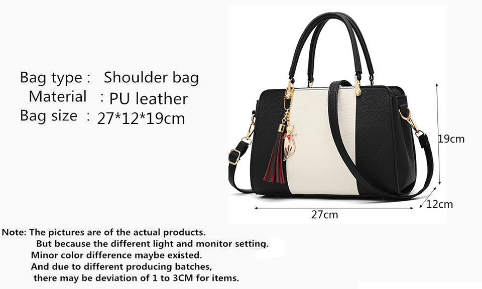 Promotion of new women's bags,limited purchase, work purse women crossbody shoulder handbags Rubber red 27×12×19cm 22