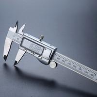 "0 150mm/6"" Metal Casing Digital CALIPER VERNIER 0.01mm Stainless Steel Caliper Digital Micrometer caliper Gauge Measure Tools|Calipers| |  -"