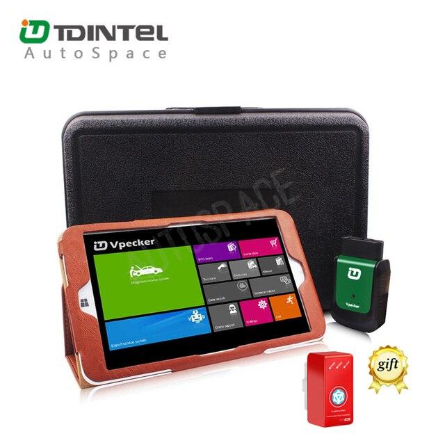 Vpecker EasyDiag V8.5 Wifi + WIN10 Tablet Автомобиля Диагностический Автомобильный Сканер лучше, чем ELM3257 v1.5 Бесплатно Получаете Нитро OBD2 Сканер
